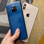 مقایسه دو گوشی آیفون XS مکس و هواوی میت ۲۰ پرو
