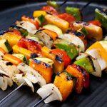طرز تهیه کباب سبزیجات مخصوص گیاهخواران