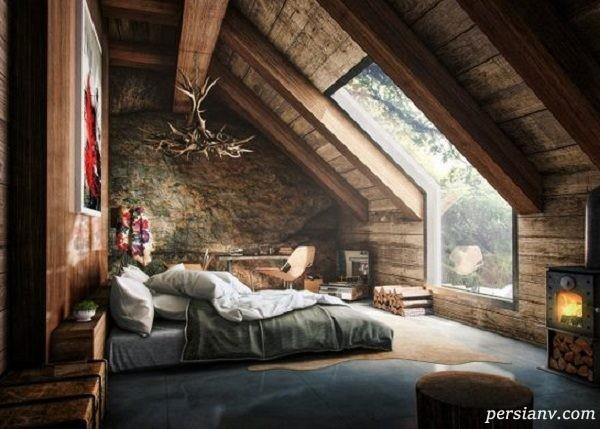 چگونه اتاق خواب کوچک را بزرگ نشان دهیم
