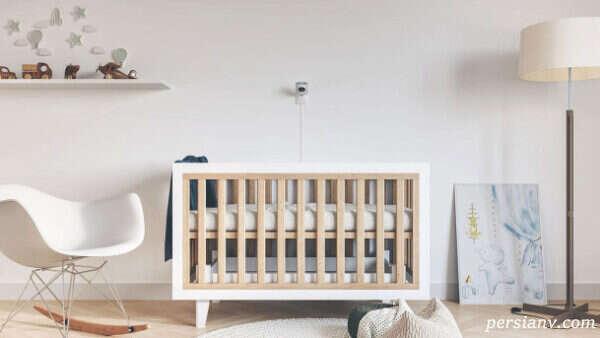 چیدمان اتاق خواب نوزاد