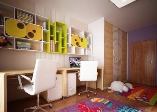 چیدمان مدرن اتاق کودک