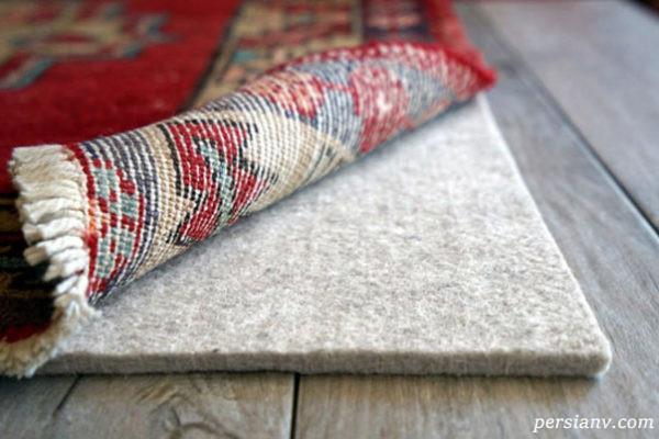 راه حل مشکل سر خوردن فرش ها