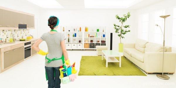 تمیزی خانه