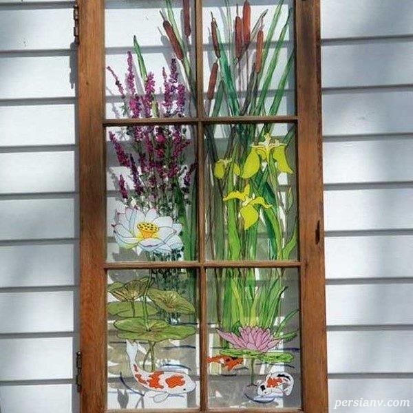 چگونه می توان با تزیین در و پنجره ها به خانه ی خود جلوه ببخشیم