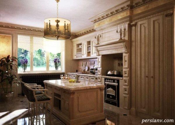 آشپزخانه به سبک غربی