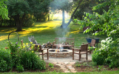 دکوراسیون باغچه و حیاط