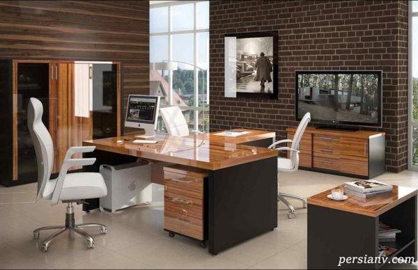 اتاق کار خانگی زیبا