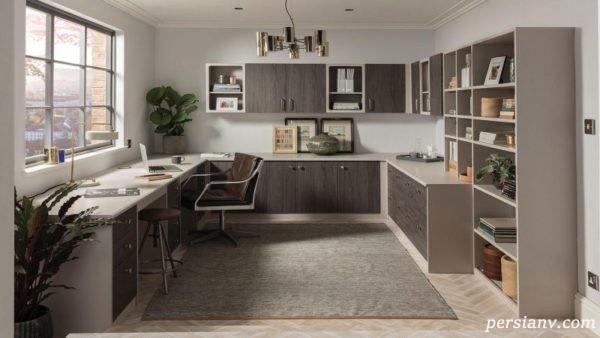 دیزاین اتاق کار خانگی