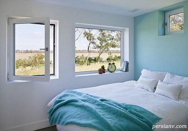 اتاق خوابهایی با رنگهای خنثی اما شیک و زیبا!