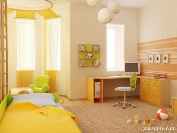 فنگ شویی اتاق کودکان