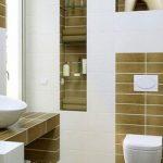 توالت فرنگی درون حمام