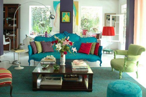 تاثیر رنگ در دکوراسیون منزل