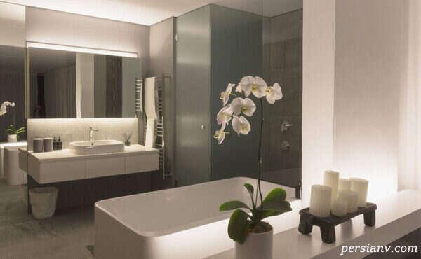 عکس های دیدنی از حمام های مدرن و زیبا