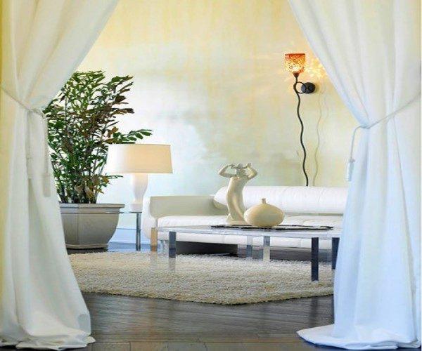 رنگ سفید در دکوراسیون داخلی