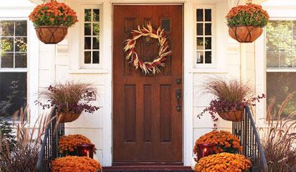 تزئین ورودی خانه