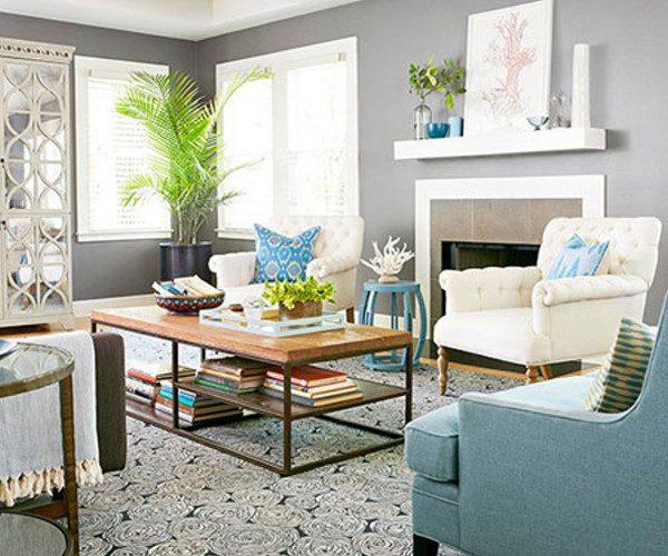 رنگ مناسب اتاق پذیرایی کوچک
