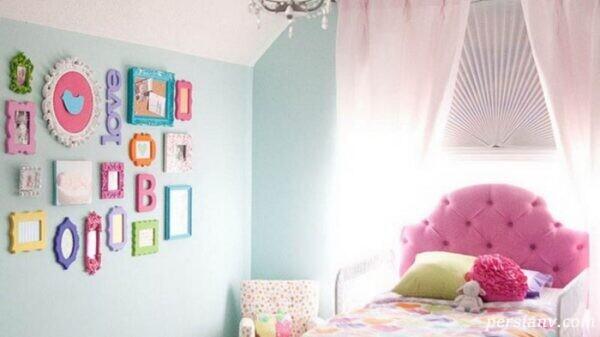 یک اتاق خواب دخترانه رویایی درست کنیم