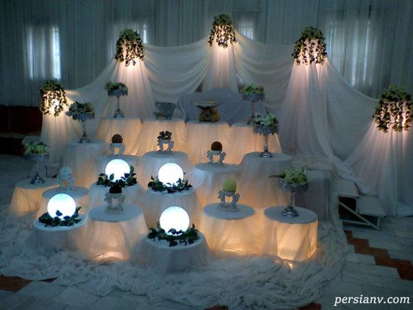 تزیین میز عروس