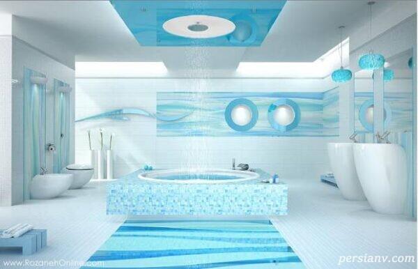 حمام های رویایی و لوکس و بی نظیر