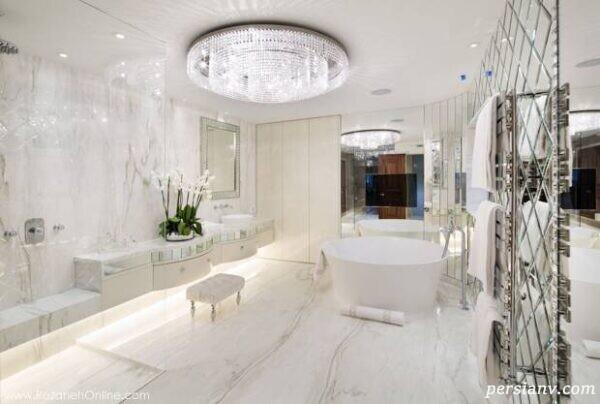 حمام های لوکس