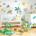 مدل دکوراسیون رنگارنگ اتاق کودک