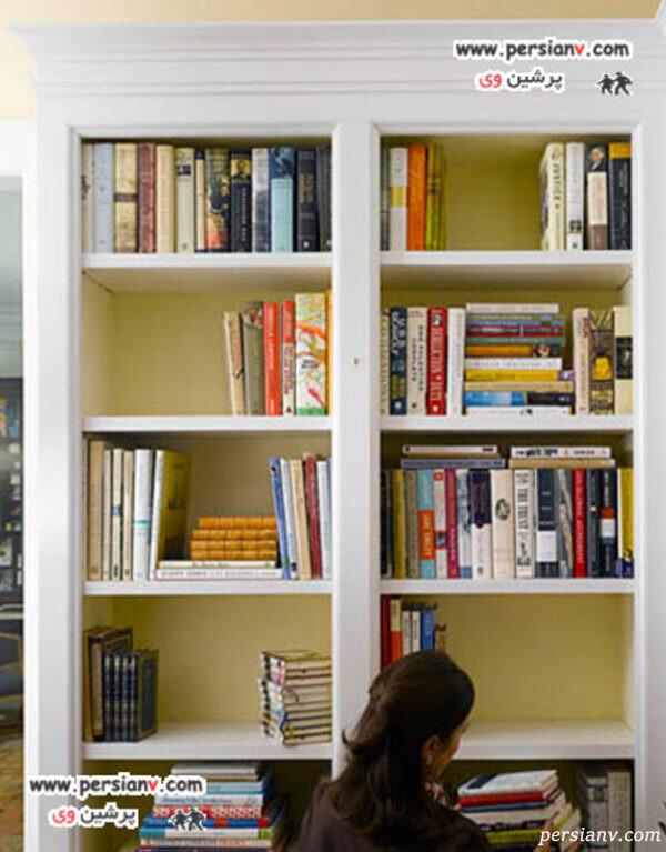 مرتب سازی دوباره قفسه های کتاب