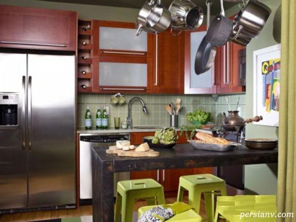مدل های زیبایی از دکوراسیون آشپزخانه های کوچک
