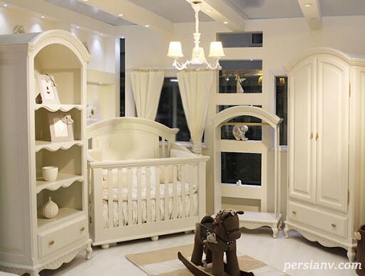 ایده های زیبای چیدمان اتاق نوزاد +عکس