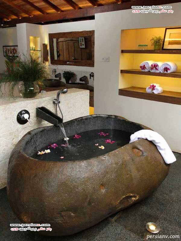 حمام های سنگی