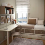 ایده های زیبایی برای دکوراسیون اتاق خواب های کوچک