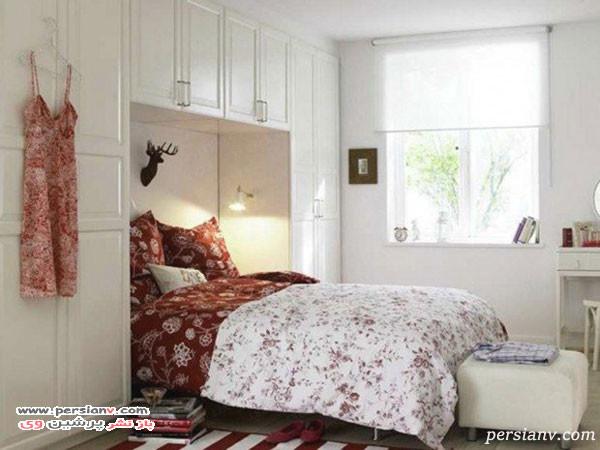 دکوراسیون اتاق خواب های کوچک