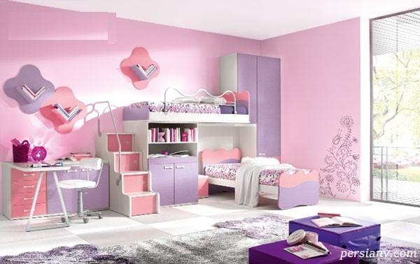 مدل دکوراسیون های فانتزی و زیبا برای اتاق کودک و نوجوان