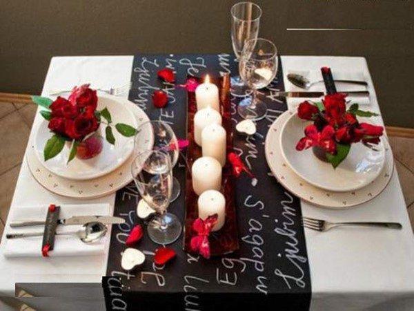 چیدمان میز به سبک عاشقانه و رمانتیک + عکس