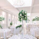 استفاده از گل در دکوراسیون عروسی