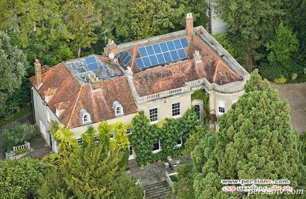 خانه جورج کلونی و همسرش