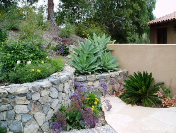 فضاسازی حیاط و باغچه