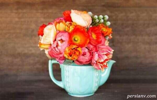 گل آرایی با گل خشک