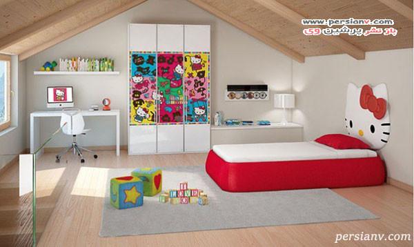 اتاق خواب هلو کیتی