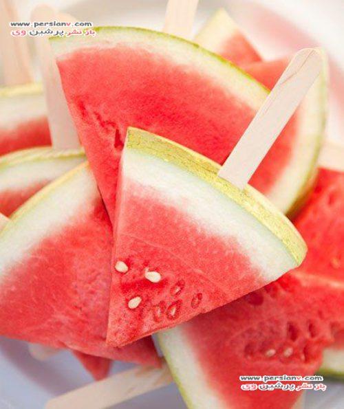 برش هندوانه یلدا
