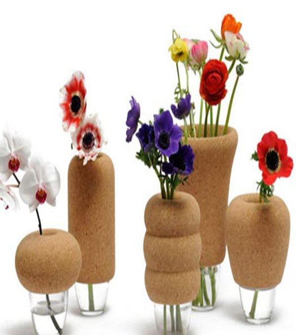 مدل گلدان های شیشه ای