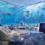 هتل غیرمعمولی با معنای واقعی خوابیدن با ماهی ها!