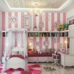 زیـباترین مدلهای دکوراسیـون اتاق خواب دخترانه