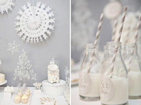 دکوارسیون زمستانی زیبا ویژه جشن های و مراسم های زمستانی + تصاویر