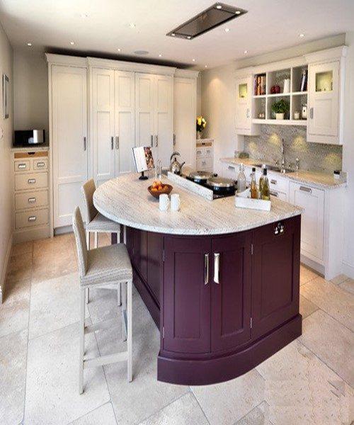 آشپزخانه های مدرن زیبا با اُپن های منحنی + عکس
