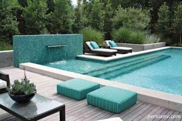 طراحی فضای باز حیاط