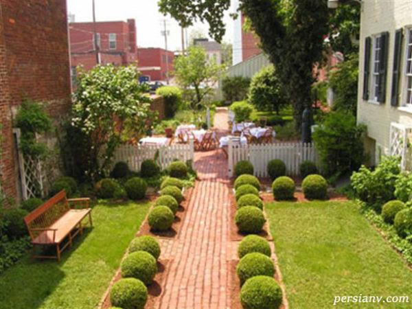 دکوراسیون باغچه و حیاط منزل