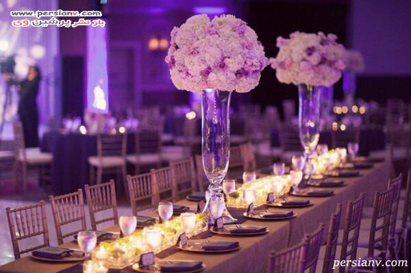 دکوراسیون میز عروسی