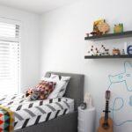 نقاشی دیواری جذاب و گیرا در اتاق خواب کودک