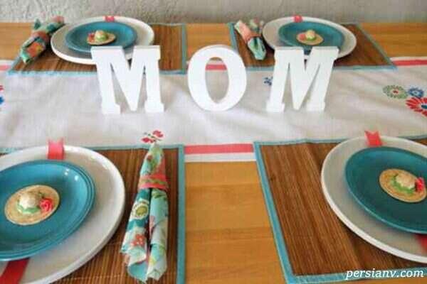 تزیین خانه در روز مادر