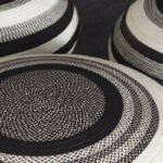 دکور خانه با جاجیم های سیاه و سفید